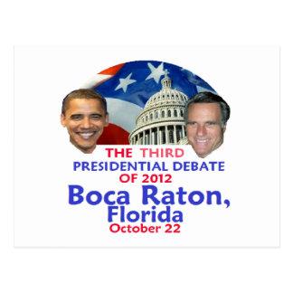 Presidential Debate Postcard