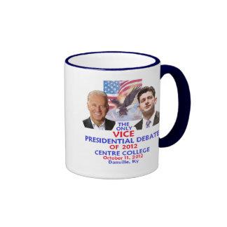 Presidential Debate Ringer Mug