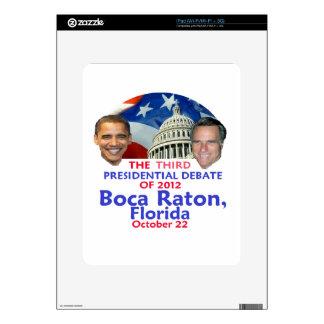 Presidential Debate Skin For The iPad