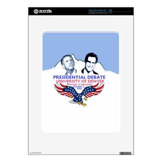 Presidential Debate Skins For iPad