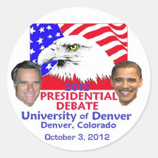 Presidential Debate Sticker