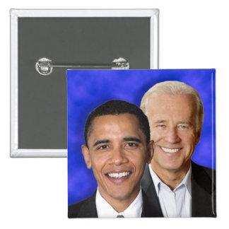 Presidential Democratic Blue Team Machine Button