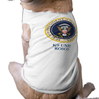 Presidential Dog Pet T Shirt