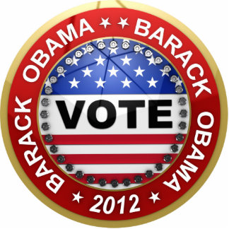 Presidential Election 2012 Barack Obama Statuette