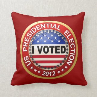 Presidential Election 2012 I voted Pillows