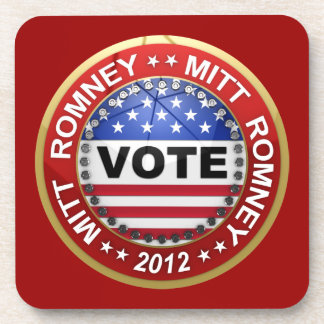 Presidential Election 2012 Mitt Romney Drink Coaster