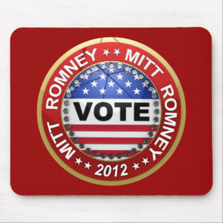 Presidential Election 2012 Mitt Romney Mouse Pad