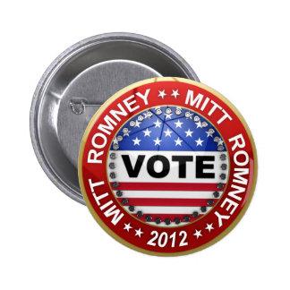 Presidential Election 2012 Mitt Romney Pins