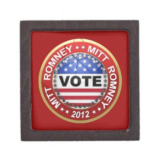 Presidential Election 2012 Mitt Romney Premium Keepsake Box