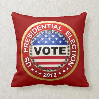 Presidential Election 2012 Vote Throw Pillows