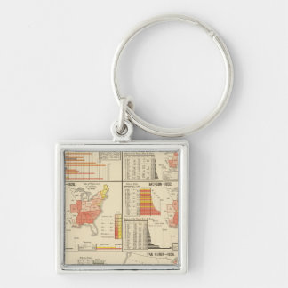 Presidential elections 1824-1840 keychain