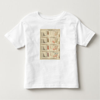 Presidential elections 1844-1856 toddler t-shirt