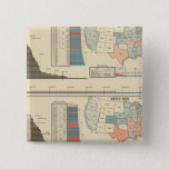 Presidential elections  1872-1880 pinback button
