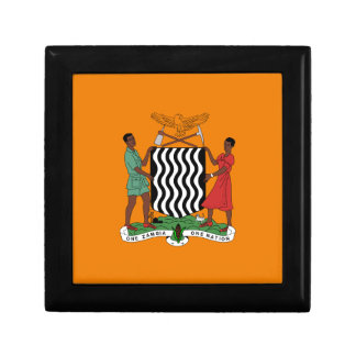 Presidential flag of Zambia Jewelry Box