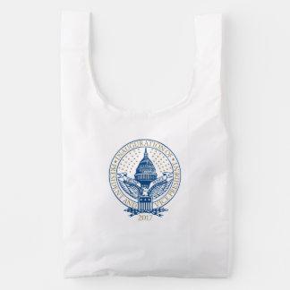 Presidential Inauguration Trump Pence 2017 Logo Reusable Bag