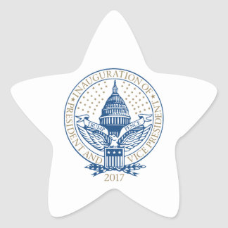 Presidential Inauguration Trump Pence 2017 Star Sticker