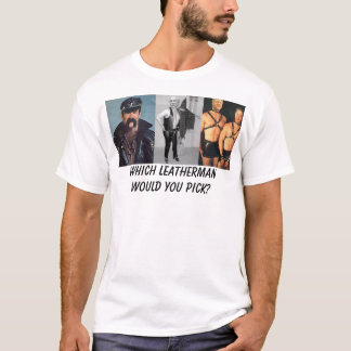 Presidential Leather T-Shirt