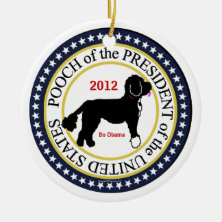 Presidential Pooch Ornament