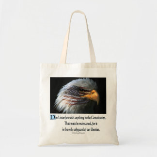 Presidential Quotes Canvas Bags