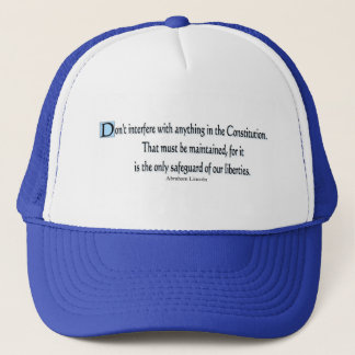 Presidential Quotes Trucker Hat