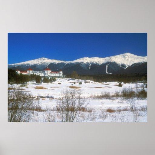 Presidential Range and Bretton Woods Poster