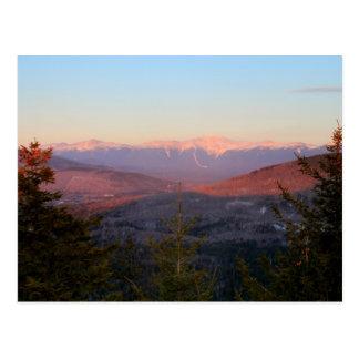 Presidential Range from Mount Sugarloaf Postcard