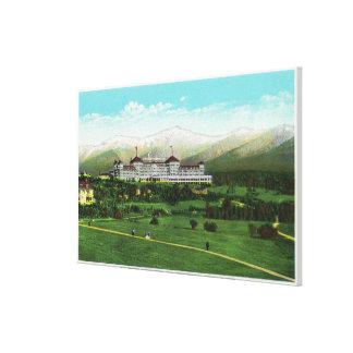 Presidential Range in September Gallery Wrap Canvas