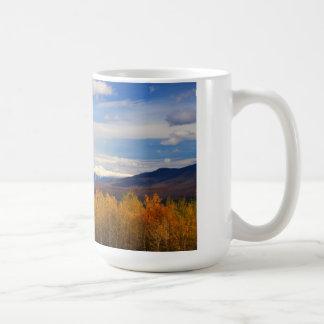 Presidential Range Mount Washington Snow Foliage Coffee Mug