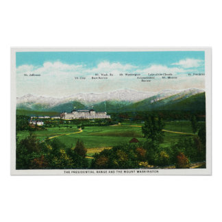 Presidential Range View 3 Posters