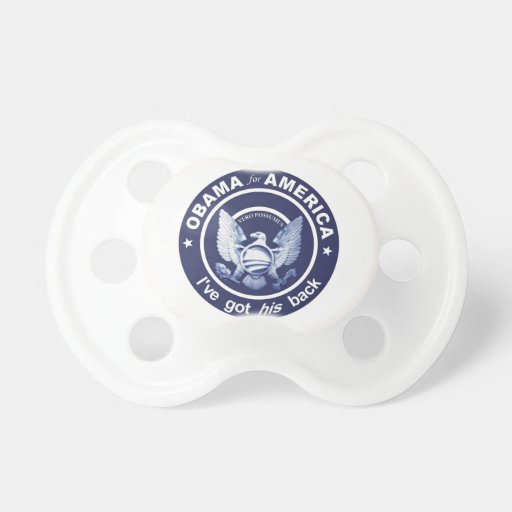 Presidential Seal Baby Pacifiers