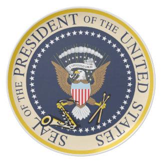 Presidential Seal : Bill Clinton : Plate