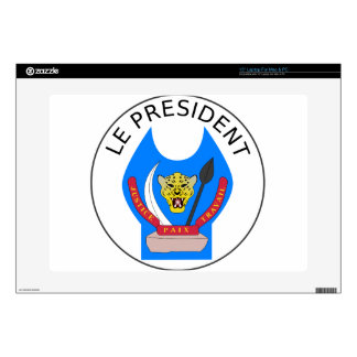 """Presidential_Seal_of_the_Democratic_Republic Of Th Decal For 15"""" Laptop"""