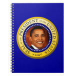 Presidential Seal Spiral Note Books