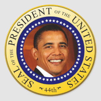 Presidential Seal Sticker