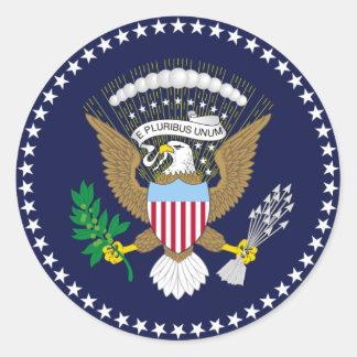 Presidential Seal Round Sticker