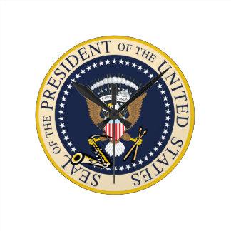 Presidential Seal : Wall Clock