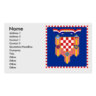 Presidential   the Republic Croatia, Croatia Double-Sided Standard Business Cards (Pack Of 100)