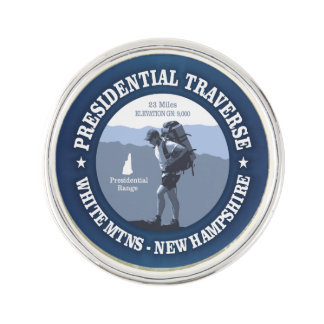Presidential Traverse (rd) Lapel Pin