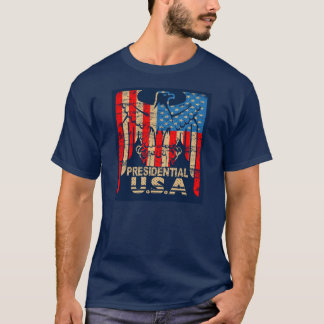 PRESIDENTIAL U.S.A. EAGLE FLY T-Shirt
