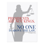Presidents Are Not Kings No One Is Above The Law V Postcard