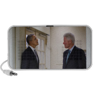 Presidents Barack Obama & Bill Clinton Notebook Speaker
