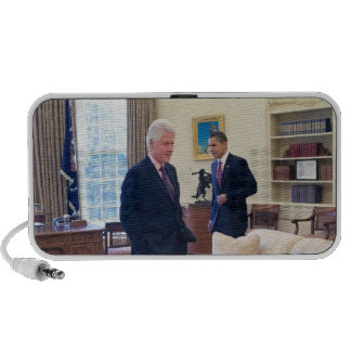 Presidents Barack Obama & Bill Clinton Laptop Speaker