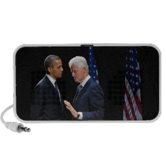 Presidents Barack Obama & Bill Clinton Travel Speaker