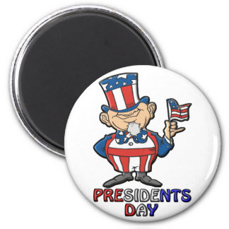 Presidents Day 2 Inch Round Magnet