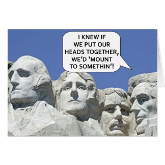 PRESIDENT'S DAY GREETING CARD