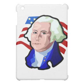 Presidents Day George Washington and USA Flag iPad Mini Case