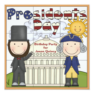 Presidents Day Invitation