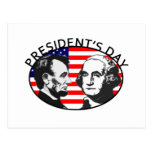 PRESIDENT'S DAY POST CARD