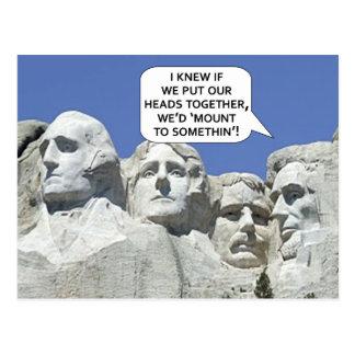 PRESIDENT'S DAY POSTCARD