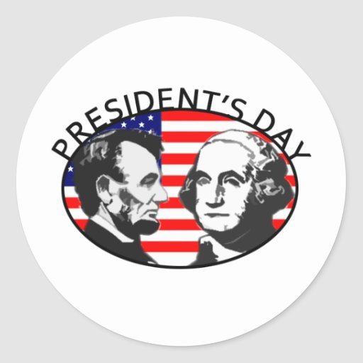 PRESIDENT'S DAY STICKERS